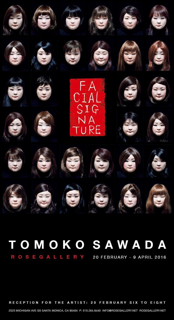 Tomoko Sawada, from   Facial Signature  , 2015
