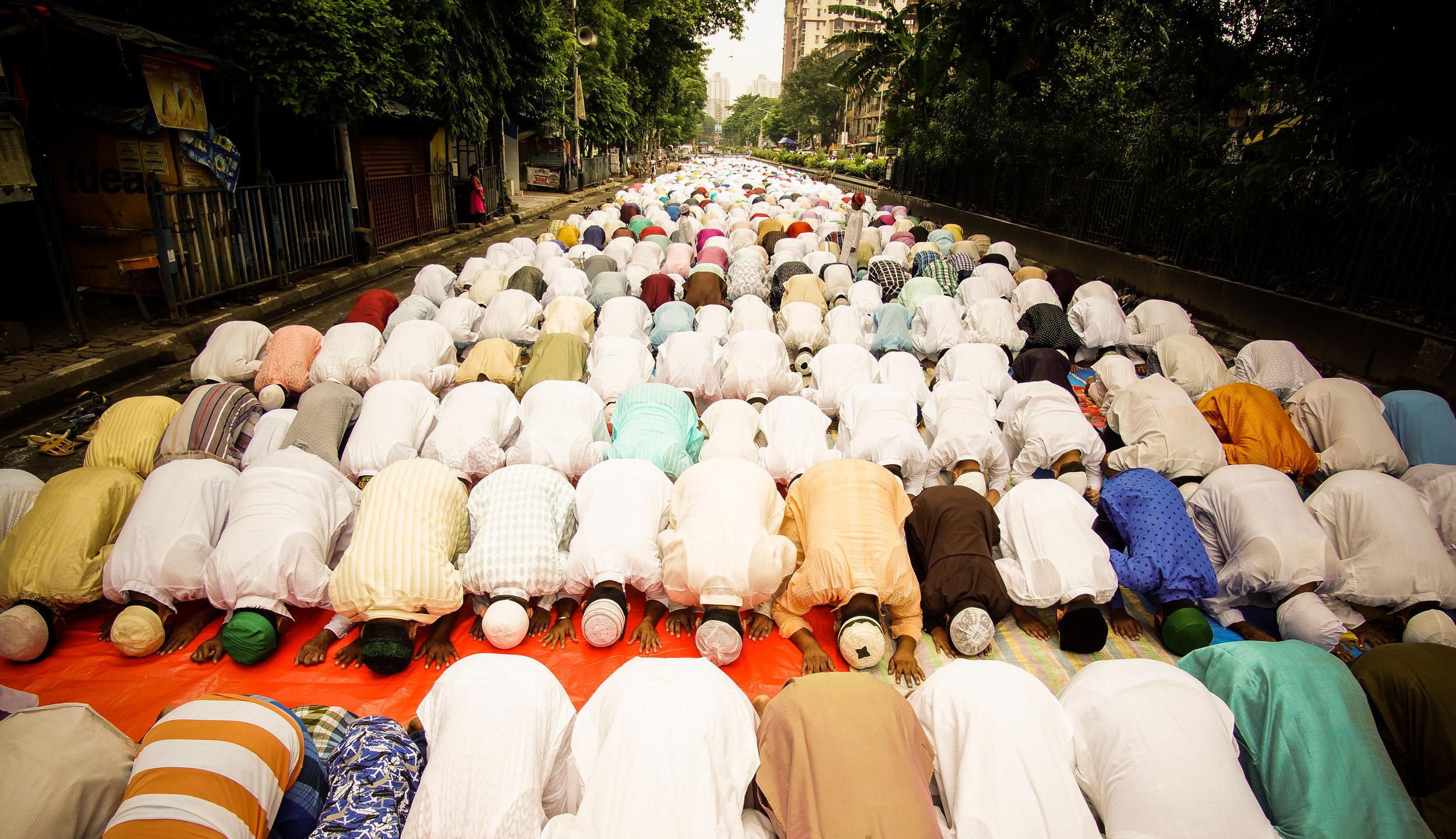 Suvomoy Nandy   Morning prayer of Eid