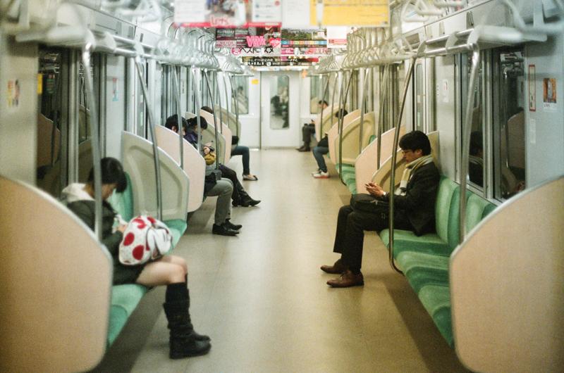 Turi Calafato   On the train (Detachment II)