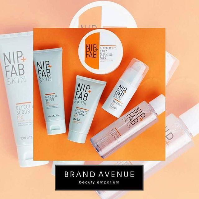 We adore the Glycolic Range from #NipandFab. Which product is your favourite?  Shop today   www.brandavenuebeauty.com  #bblog #skincare #beauty #love