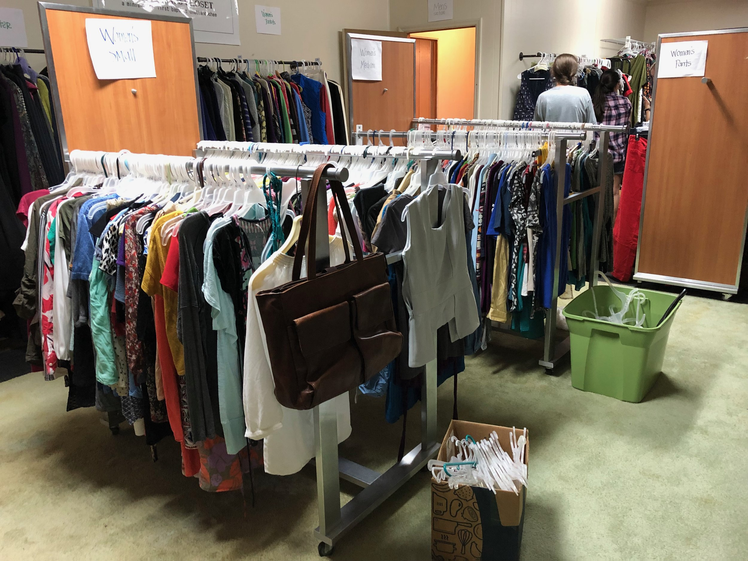 Laboring in the Local Church - Clothes ClosetGrowing in GraceCommunity Events