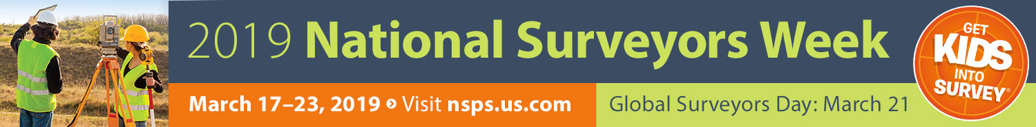 Click  here  to learn more about National Surveyors Week