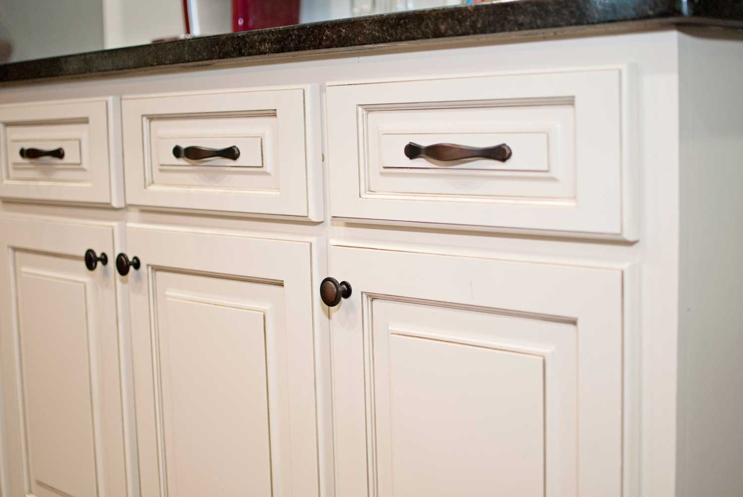 Refaced cabinet
