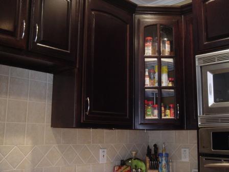 Refinshed cabinets