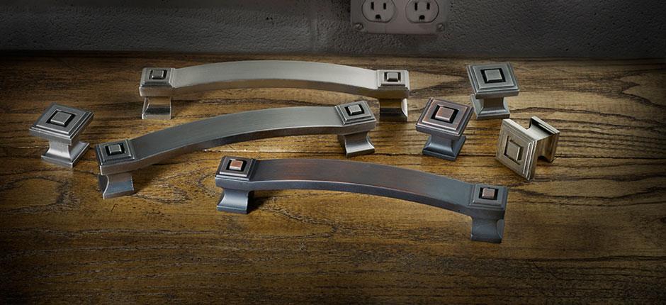 Cabinet hardware.