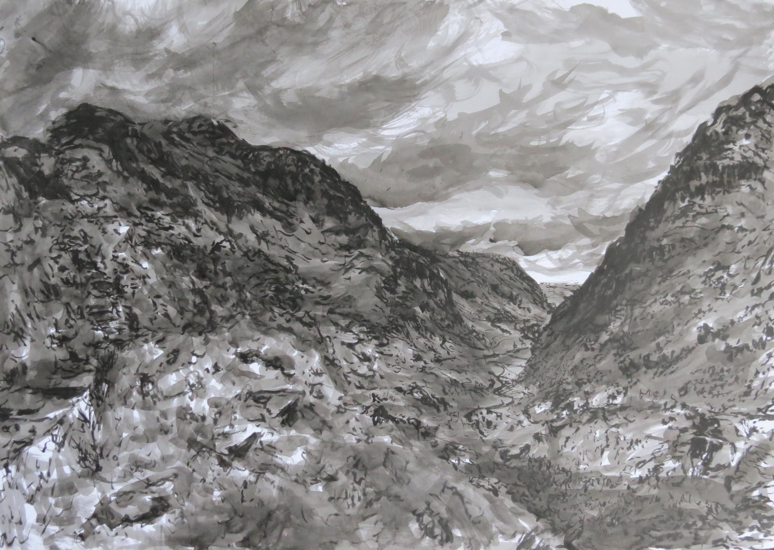 Under the cloud blanket (Snowdon)