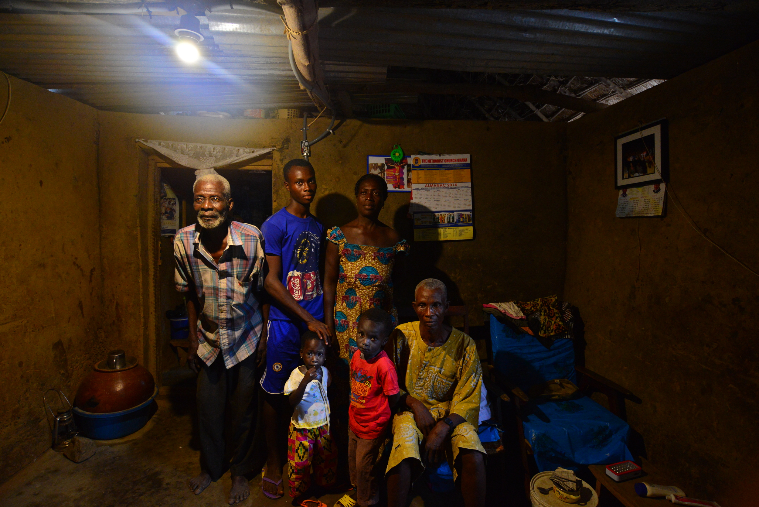 The Village Solar Project uses solar power to provide opportunities for people living in remote villages to have electricity in their homes.