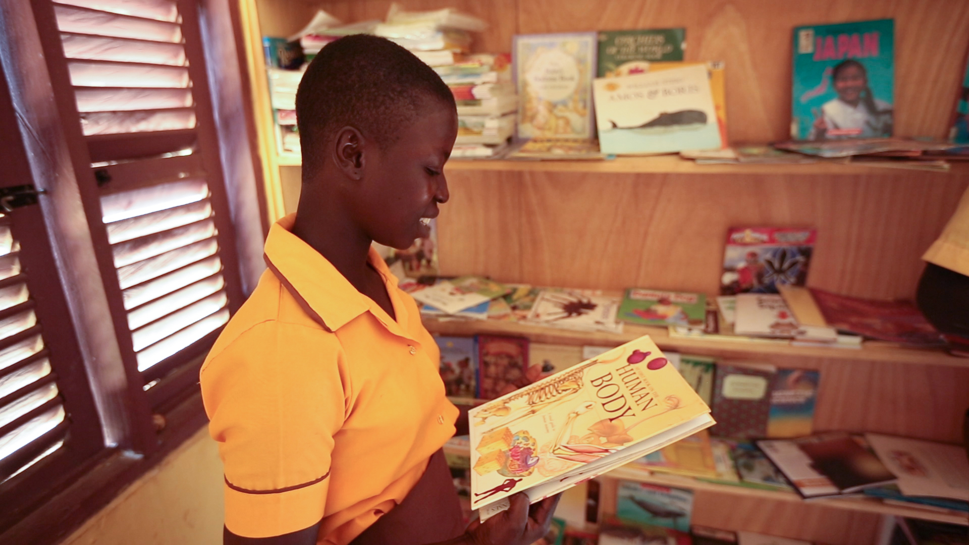 Run a Bookdrive - EPI partners with the African Library Project to establish libraries at our schools.