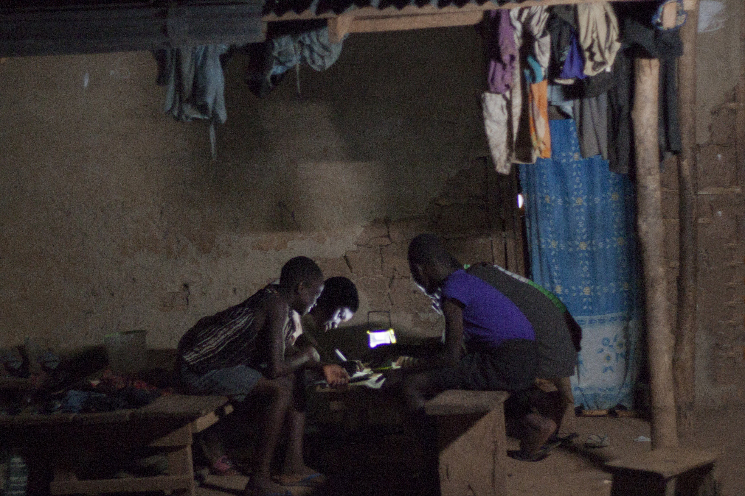 $40 buys a lantern - & Empowers 5 Students to read at night