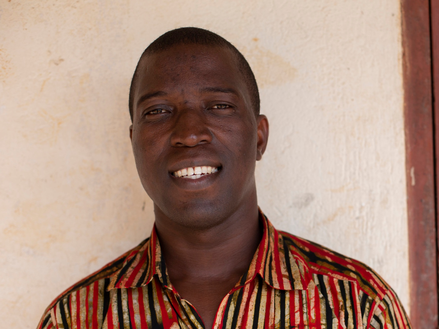 George Thompson - Projects Director (Ghana), George heads EPI's construction projects including boreholes, BioFil toilets, and school construction. George also helps with merry-go-round maintenance as well as science kit training and distribution.