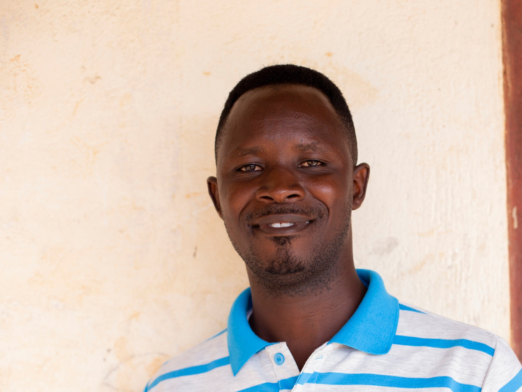 Richard Koomson - Program Associate (Ghana), Richard works with merry-go-round maintenance, science kit training and distribution, and is integral to identifying potential schools for merry-go-round installation.