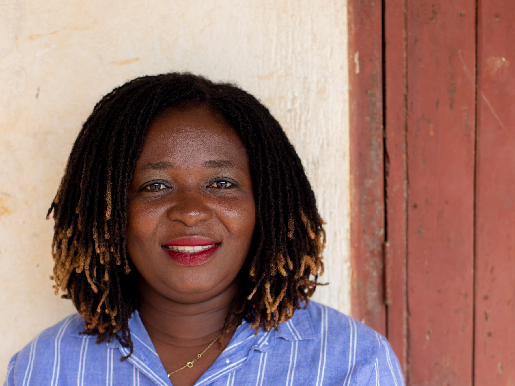 Peace Yeri - Education Specialist (Ghana), Oversees our menstrual kit project in Ghana as well as our project evaluation efforts.