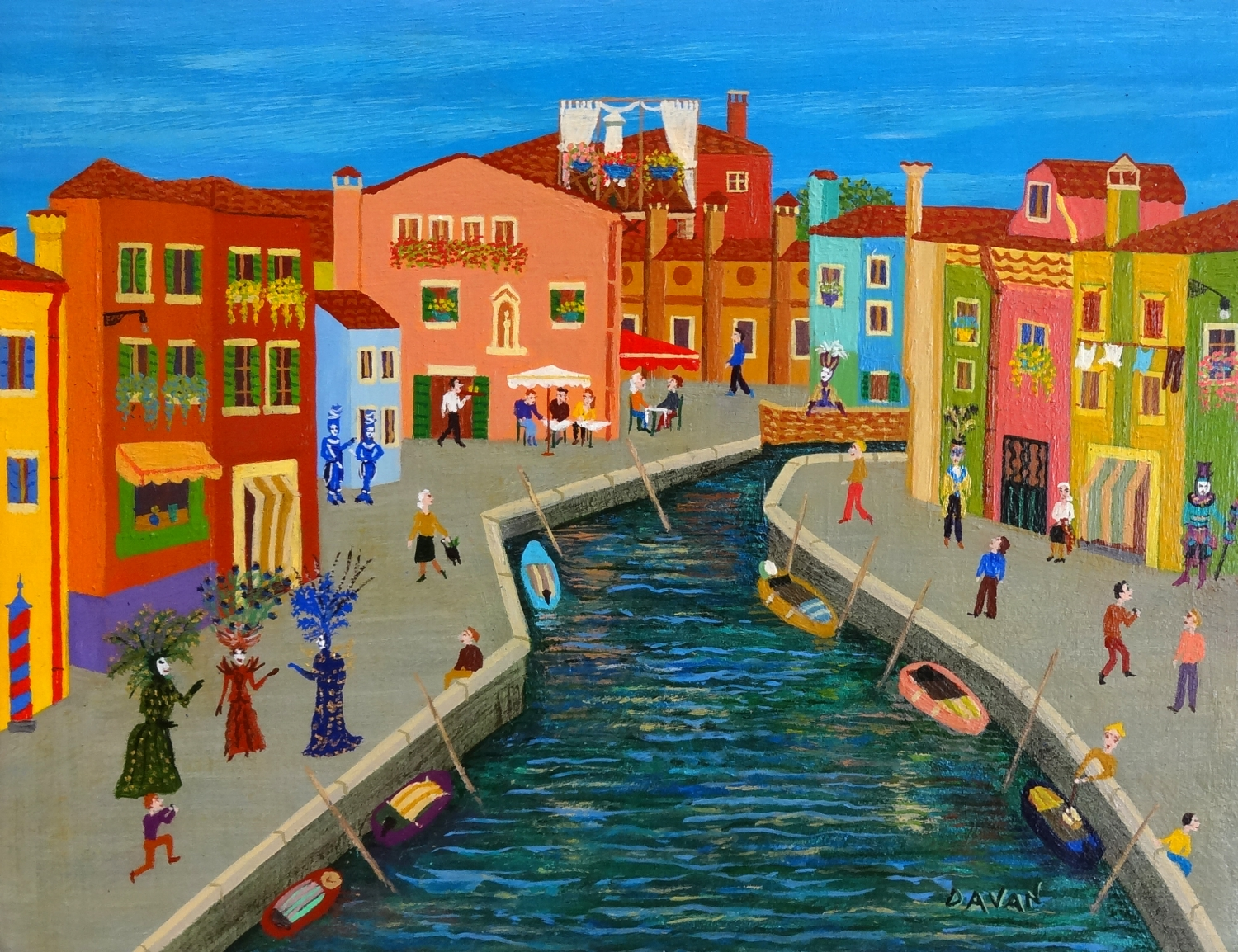 #124 Burano, Venice Little Sister (7.5 x 6 in.).jpg