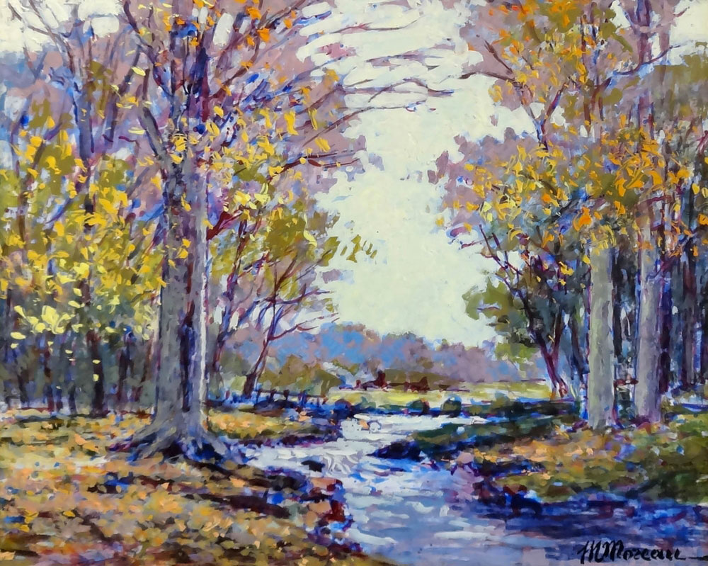 AUTOMNE  oil, 17 x 13 in.