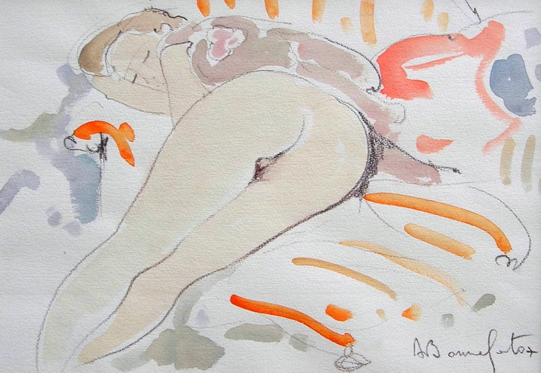 RITA  watercolor, 20 x 14 in.