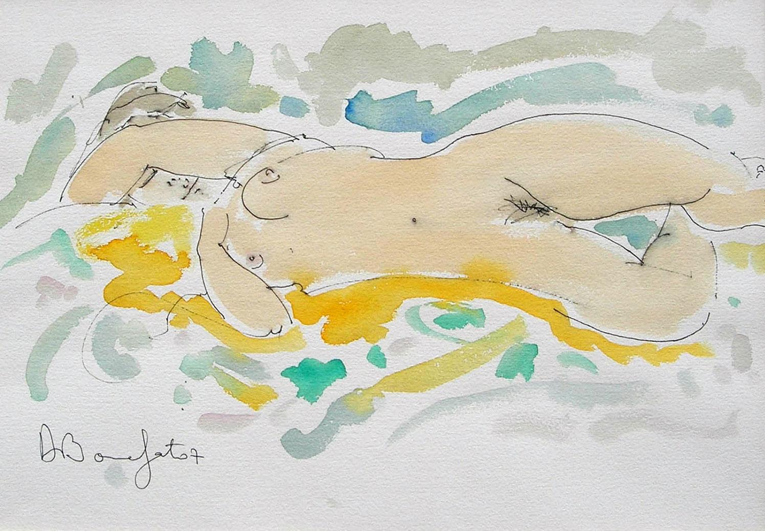 JESSYE  watercolor, 20 x 14 in.