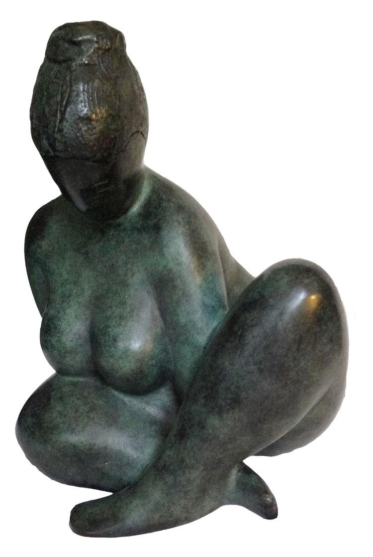 POMONE  bronze (2 of 8), 14 in.