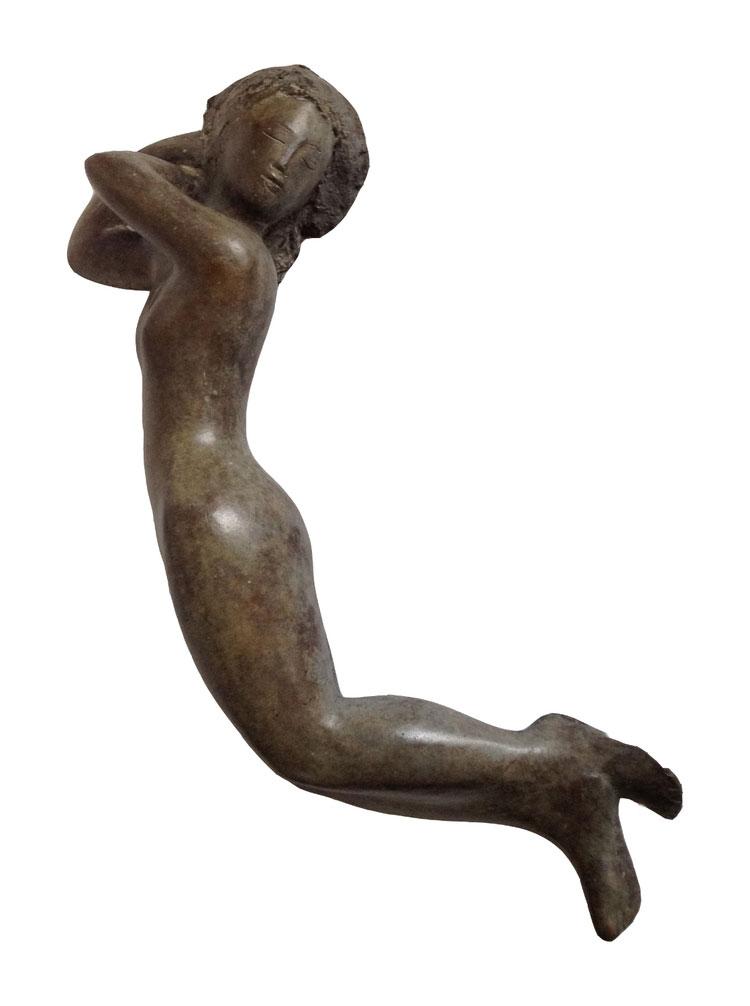 ONDE  bronze (1 of 8), 21.5 in.