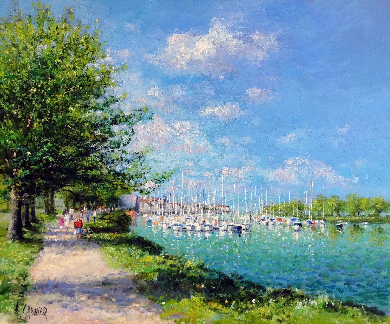 St Valery le Port de Plaisance, 26 x 21 in.