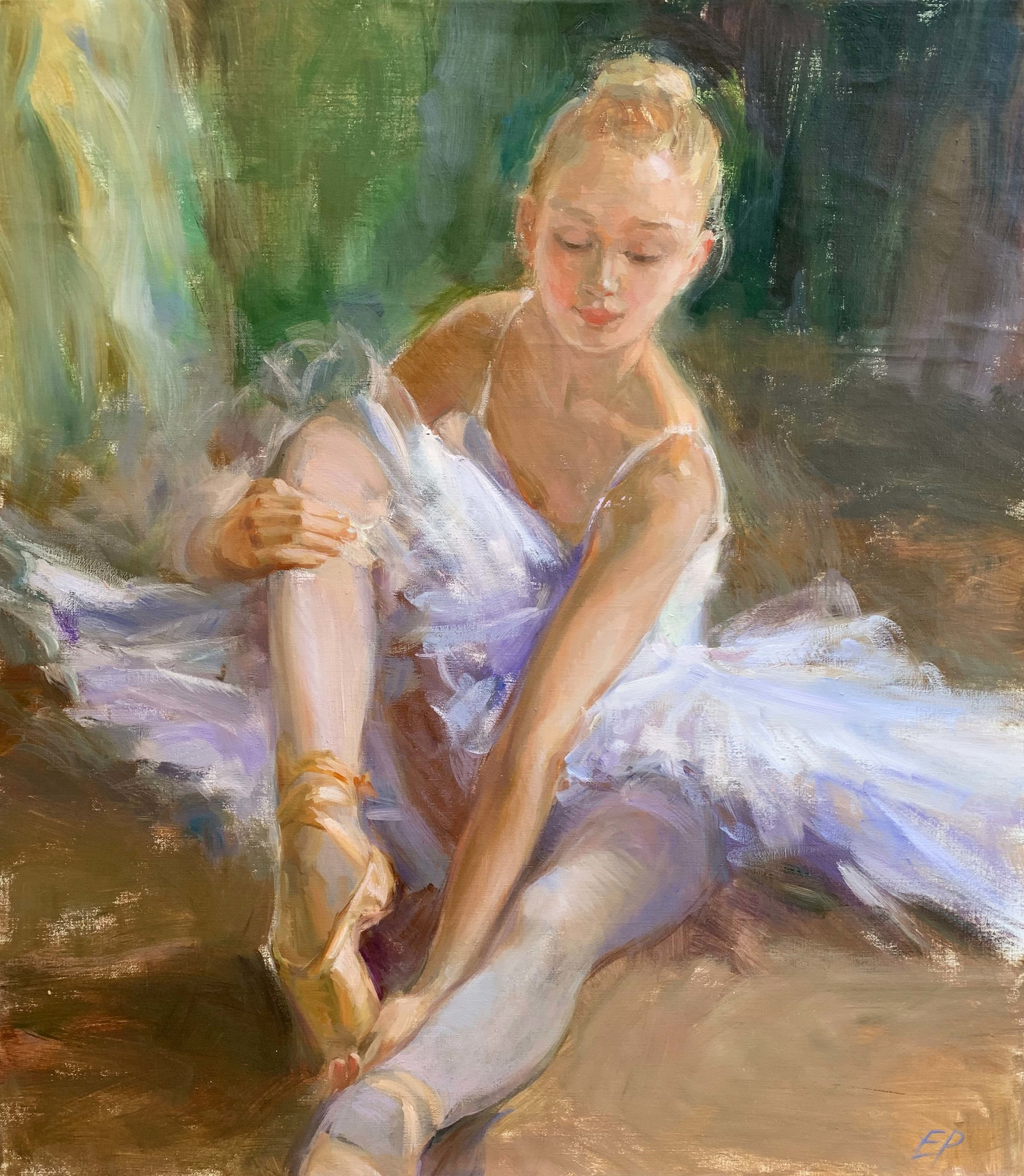 BALLERINA   oil, 27 x 31 in.