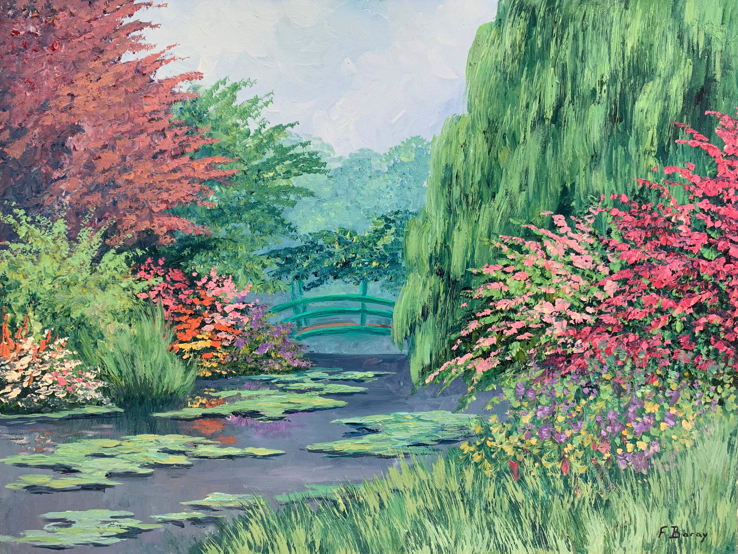 GIVERNY  oil, 24 x 18 in.