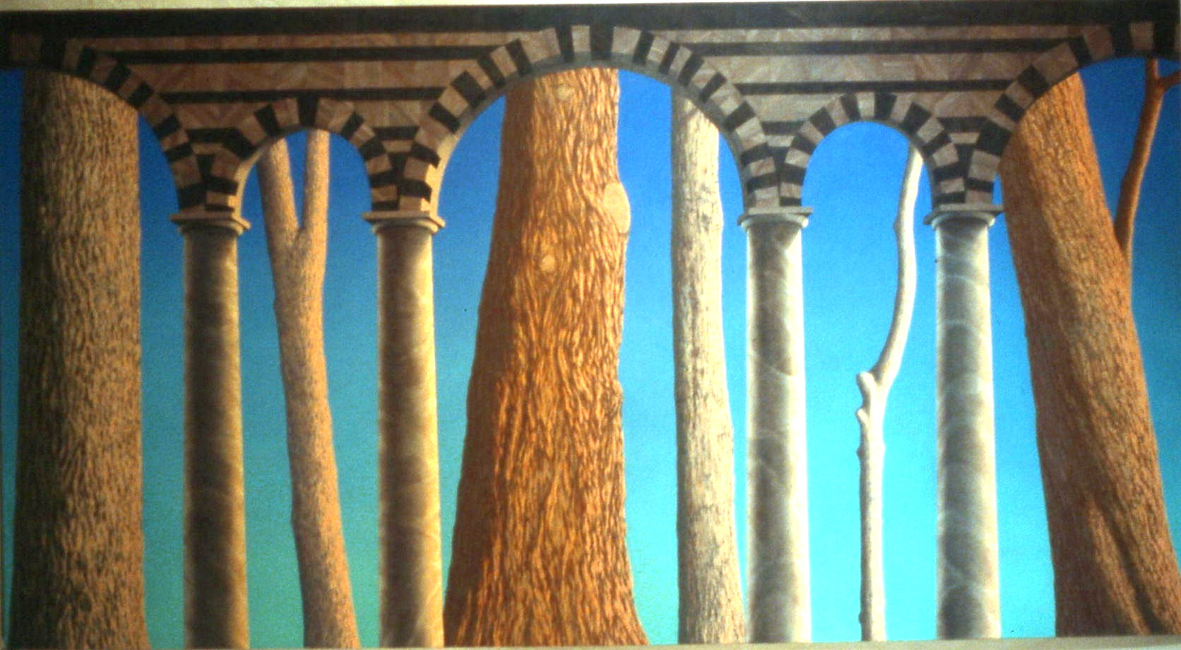 Brian Cesario triumph of western civilisation-oil on canvas-40x70.jpg