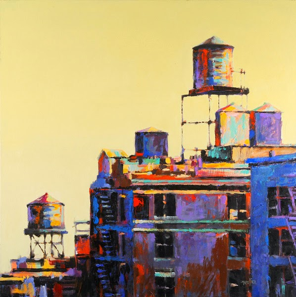 basic-color-theory_acrylic-painting_NYC-Rooftops-by-Patti-Mollica.jpg