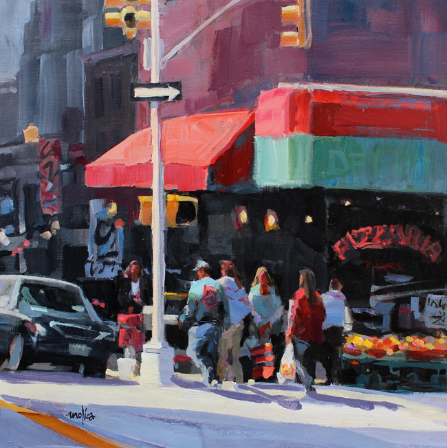 """Gallery District, NYC""   Acrylic  20x20""   More Info"