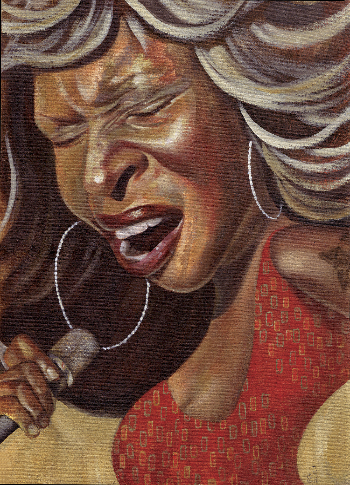 Mary J. Blige / Private commission