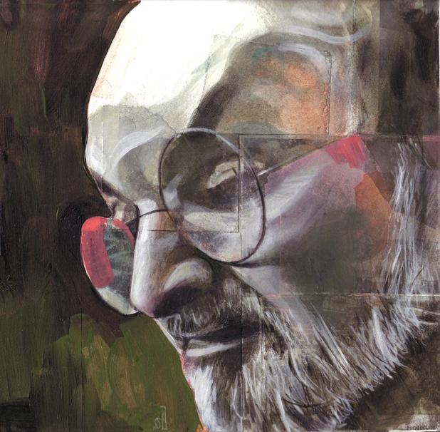Salman Rushdie / Boston Magazine
