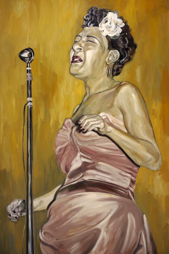 Billie Holiday / Gallery installation