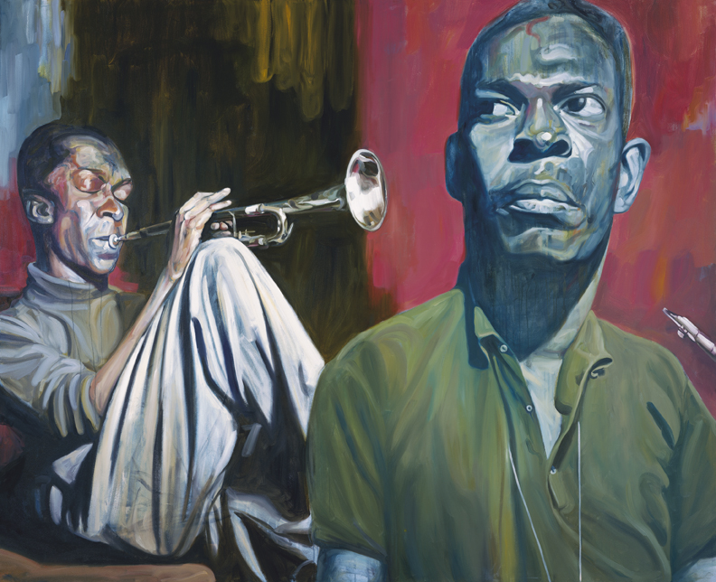 John Coltrane w/ Miles Davis / Gallery installation