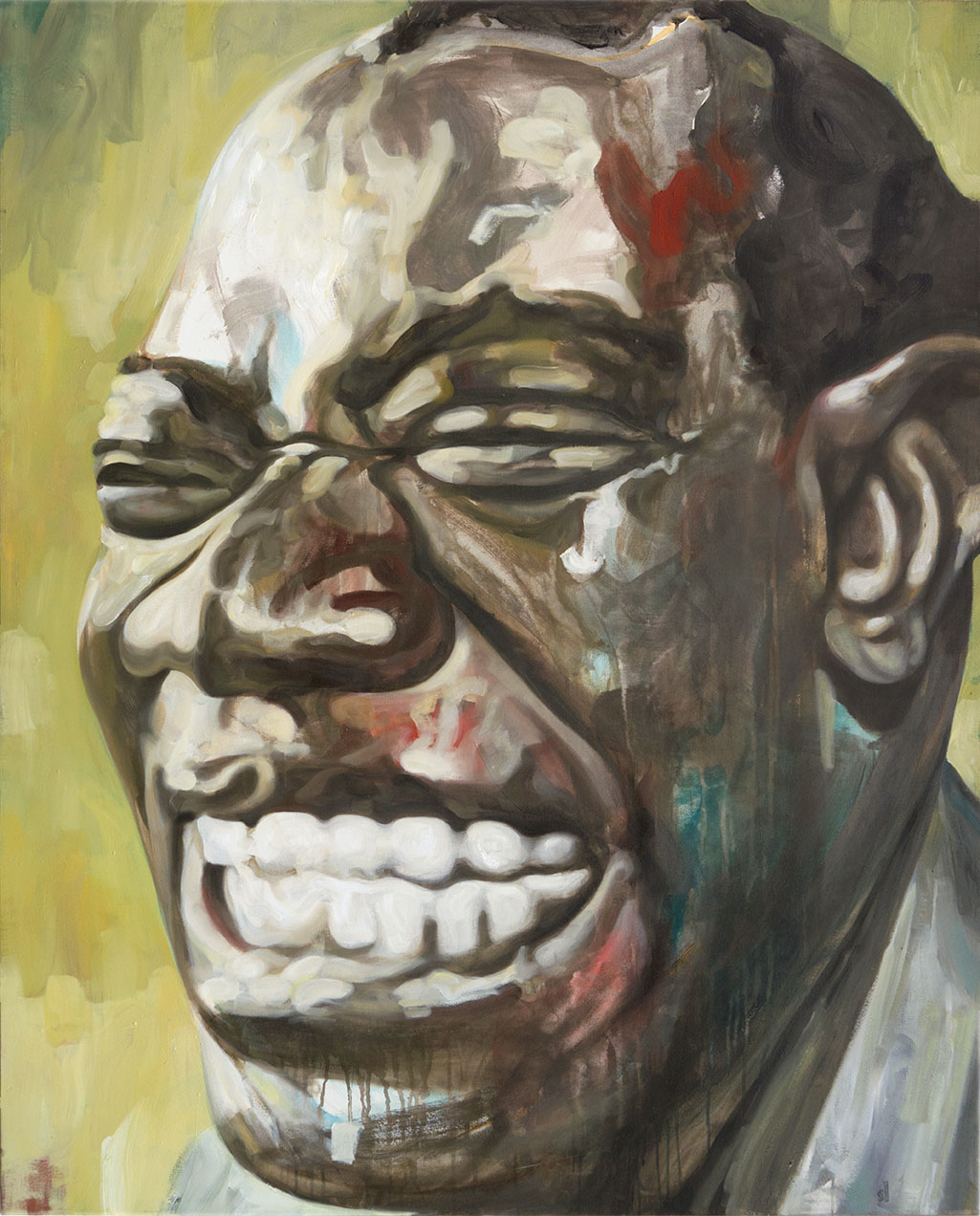 Louis Armstrong (Satchmo) / Gallery installation