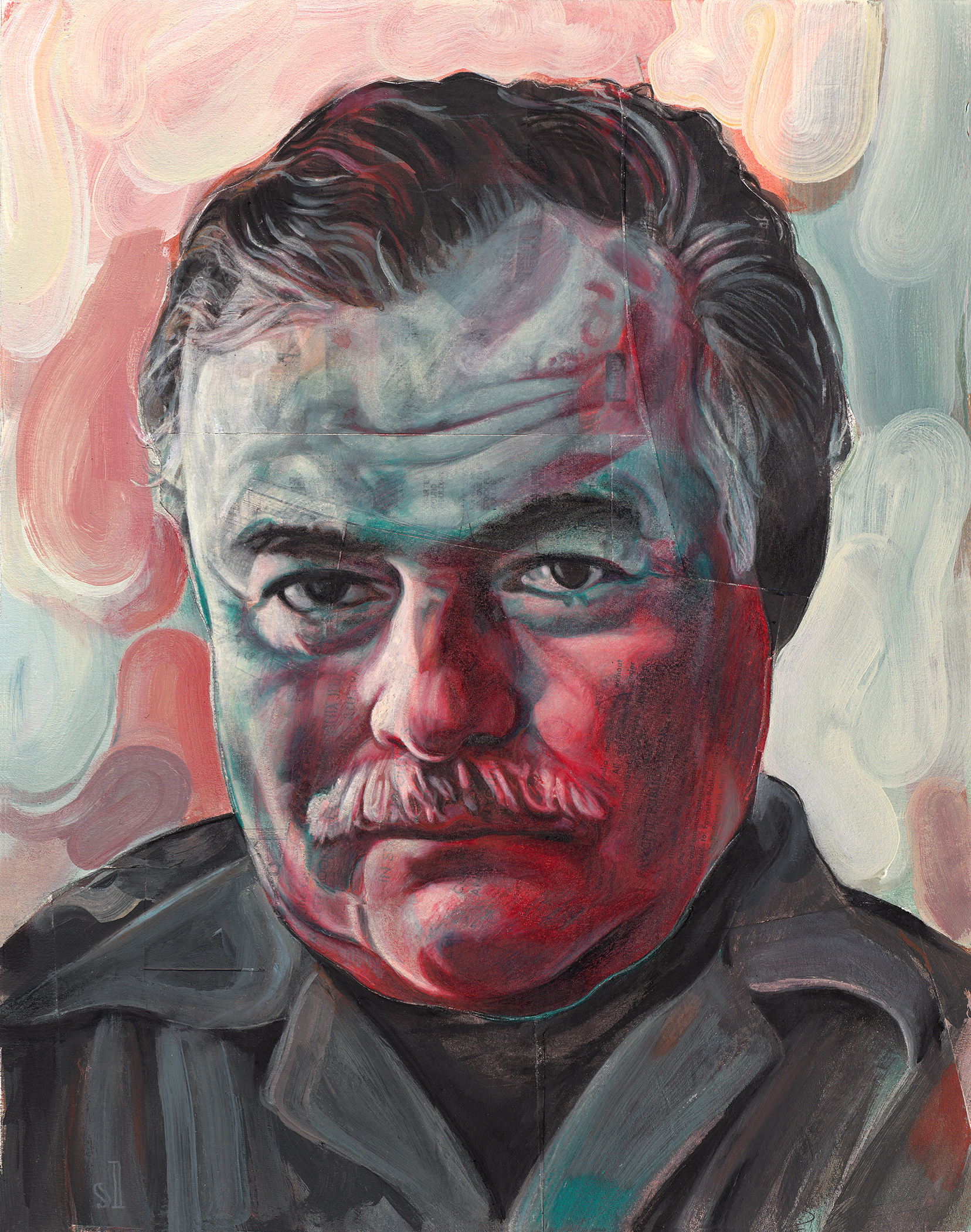 Ernest Hemingway / Private commission