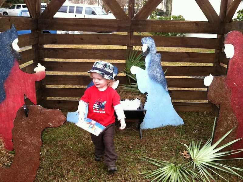 Ryals and the nativity 2013.jpg