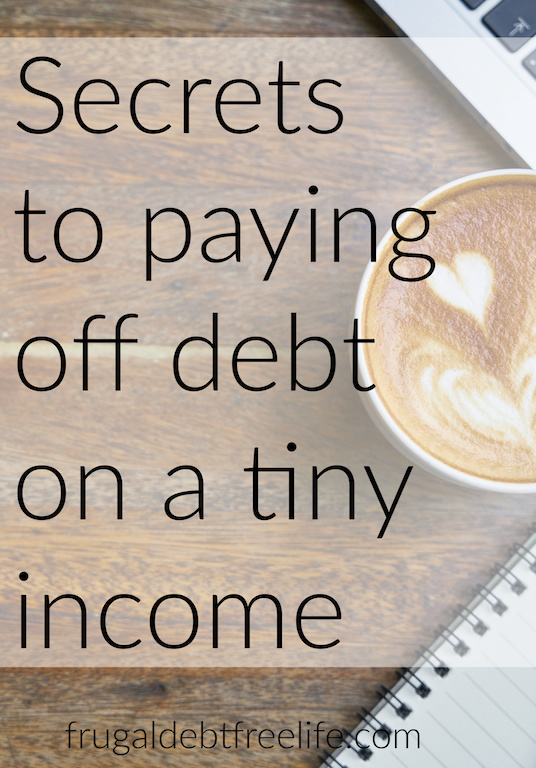 7 tips for paying off debt on a small income Debt free motivation.jpg