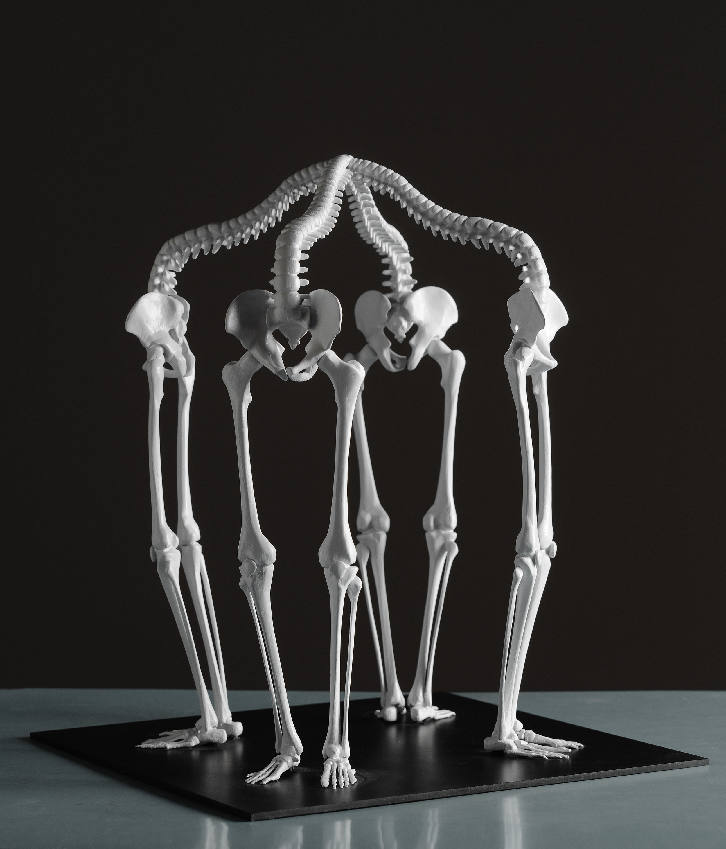 K2(Communication Cycle), gypsum composite(3D project Digital Sculptures),2011 @Monika Horčicová/ @Photo Ondřej Polák