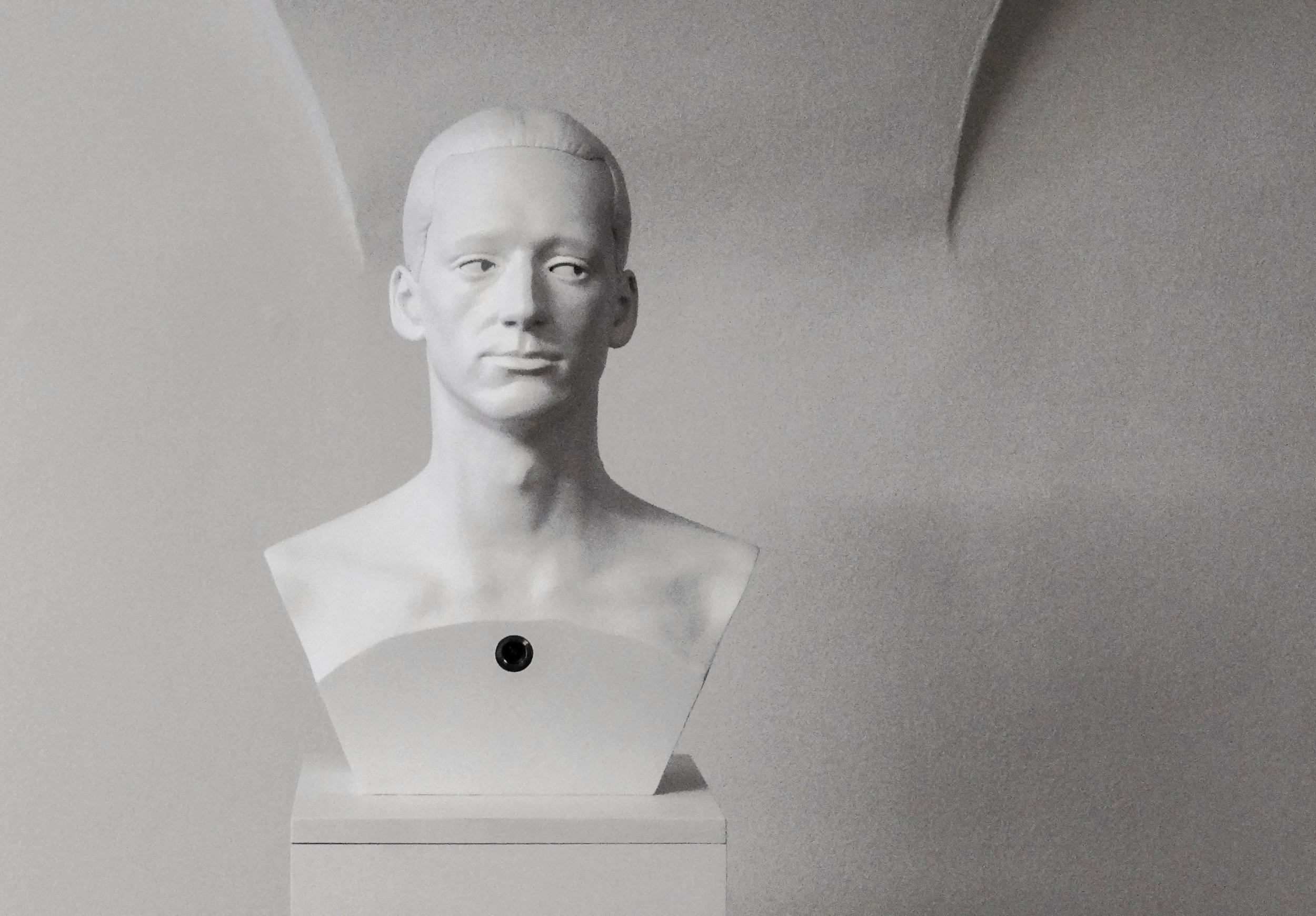 Voyeur ,electronic object, mixed media, 2008 @Dušan Váňa