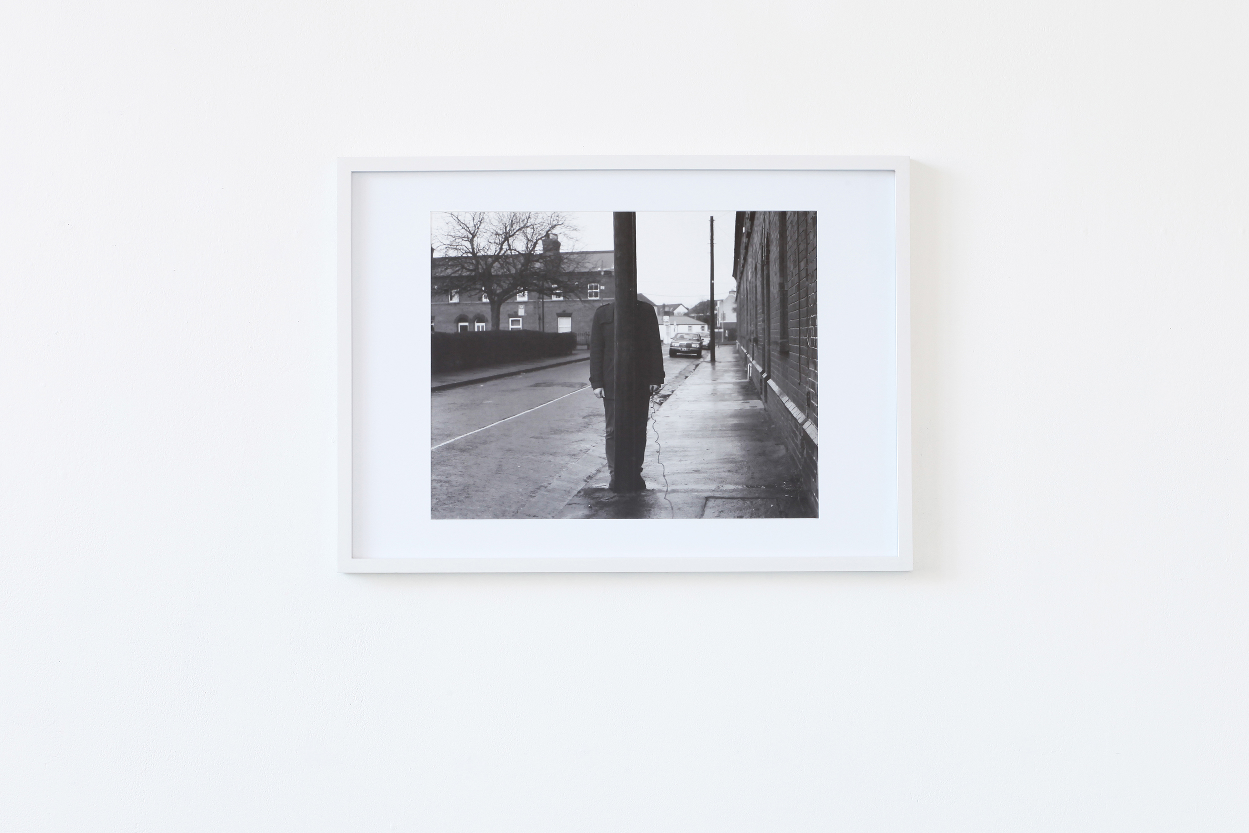 Untitled #7, 1 Archival pigment print in white frame,2014 @Andrei Venghiac