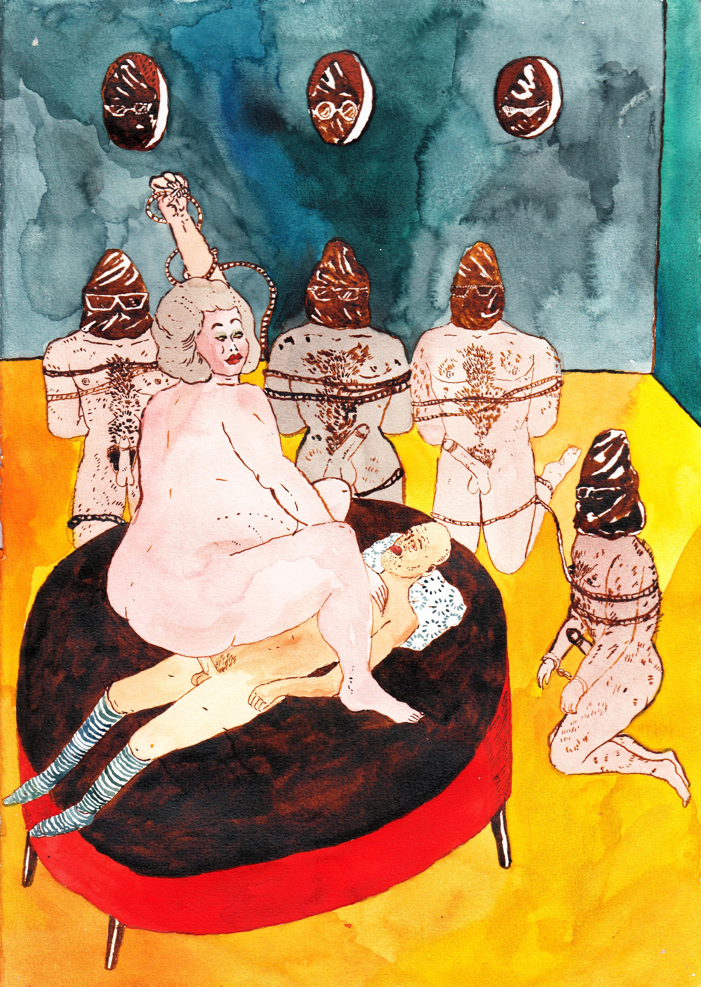 Orgy , 2016 @Joakim Drescher