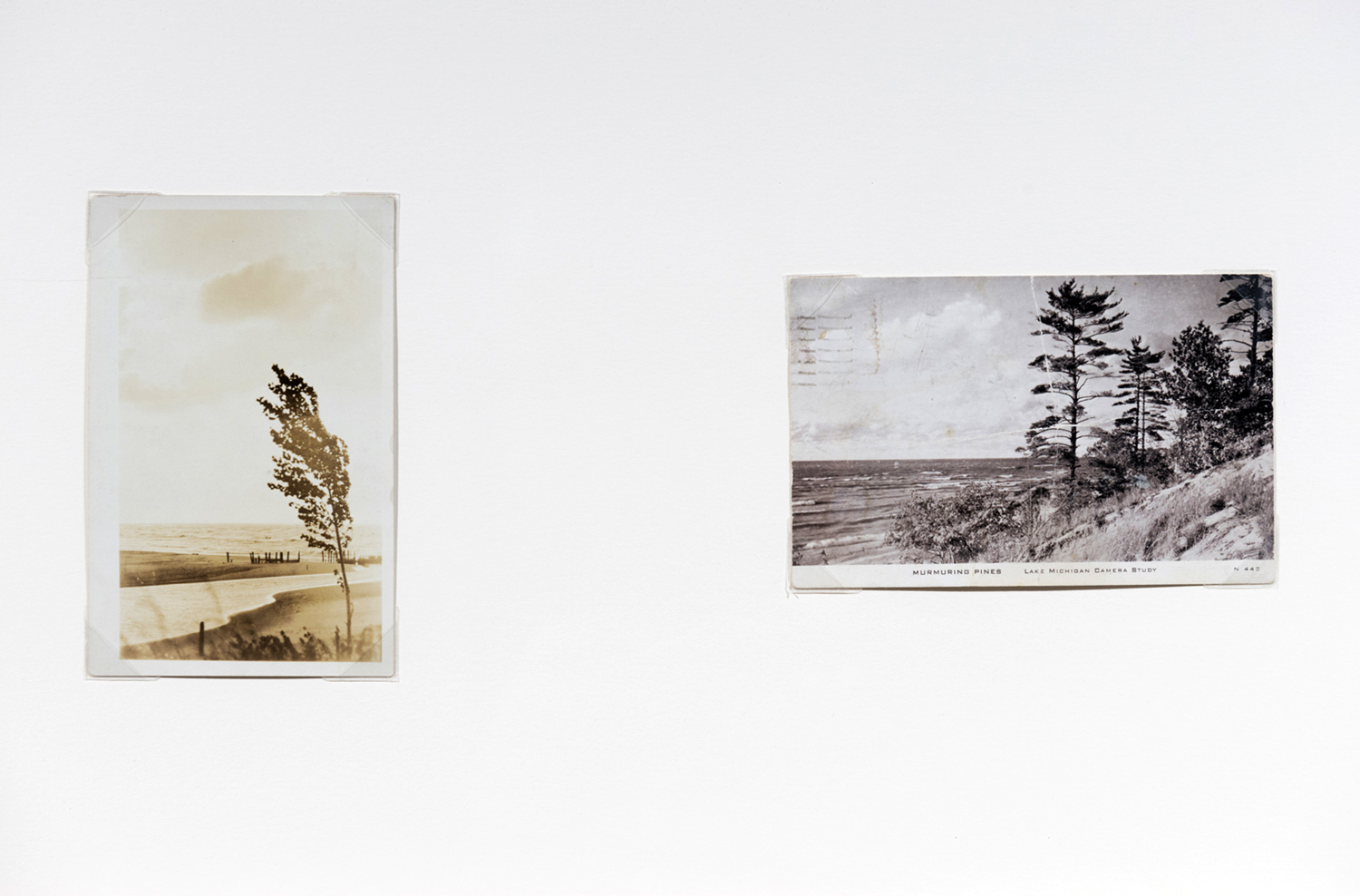 Air Mail , collection of postcards of the wind (selection), 2010 @Collaboration: Alexis Pernet, Daniel Canty & Dauphin Vincent  Photo by Paul Litherland