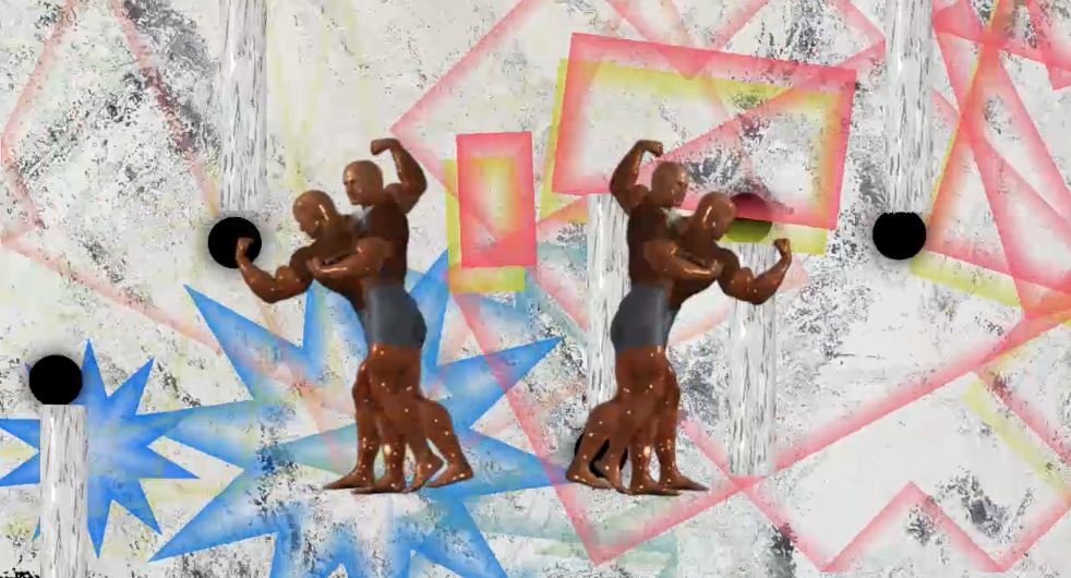 Nobody perceived me entering the Disequilibrium room , video screen shot, 2015 @Wednesday Kim
