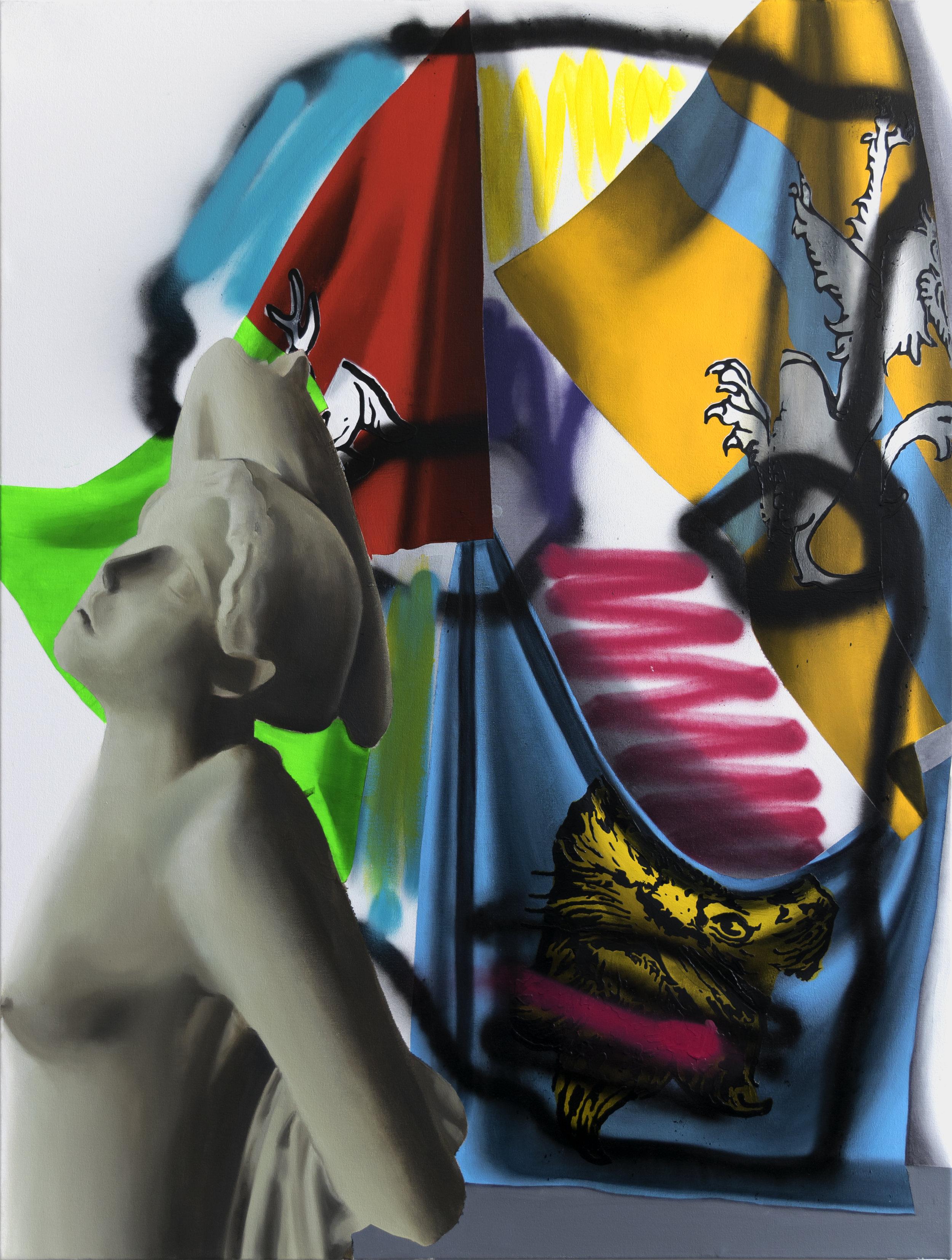 Untitled (Dying Niobid 1), 2018