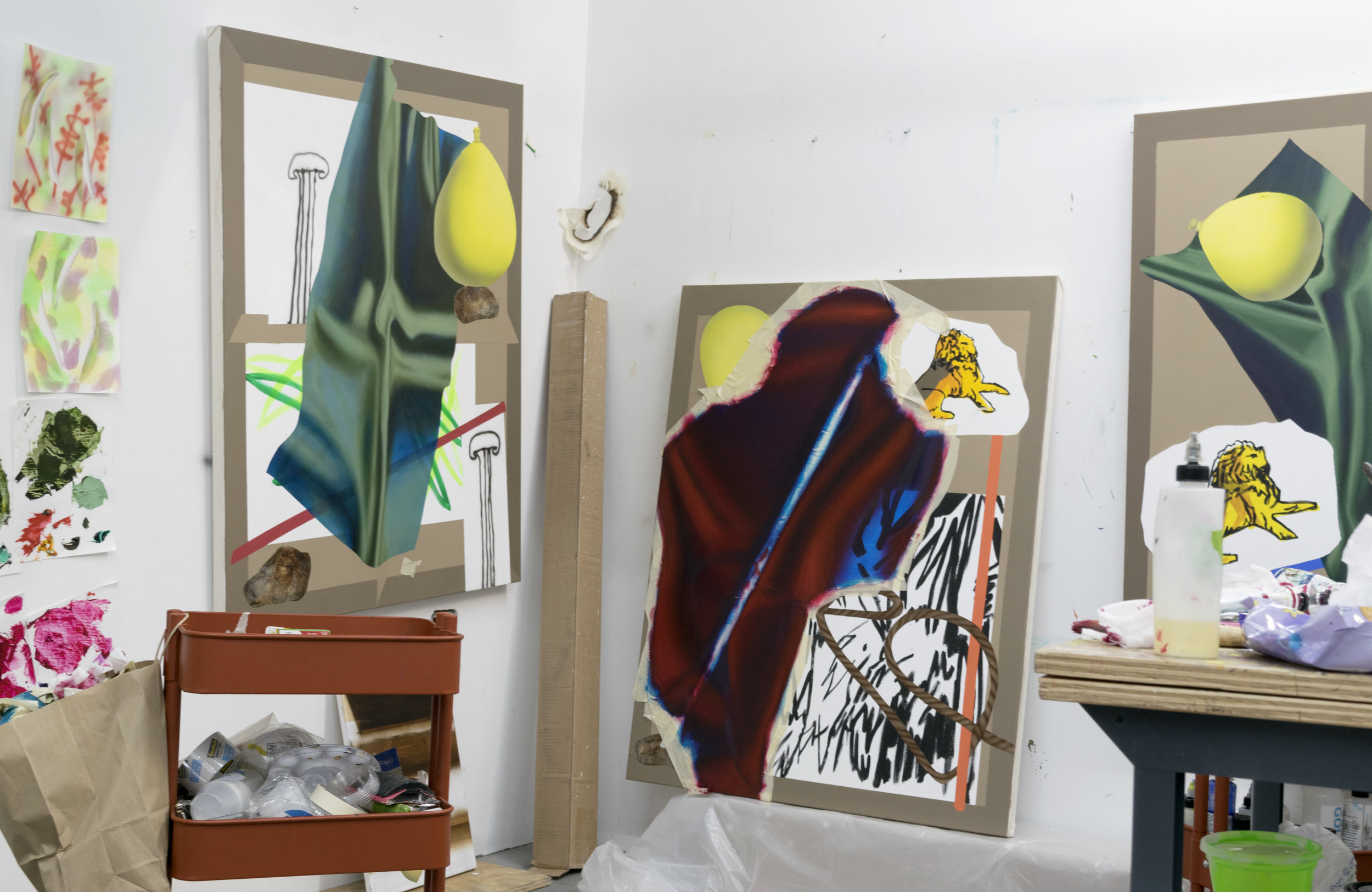Image of Ben-Simon's studio