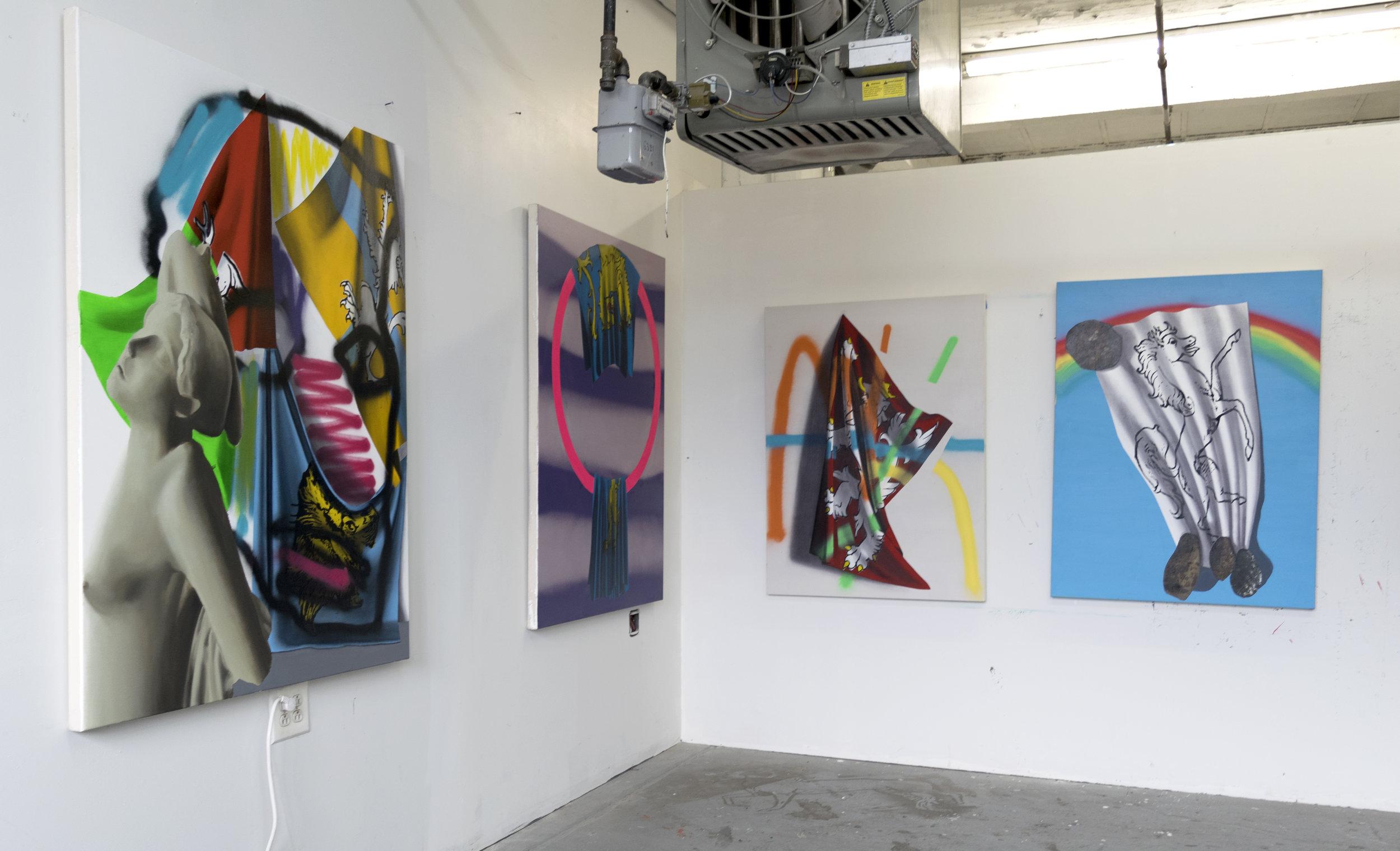 Image of Ben-Simon's studio