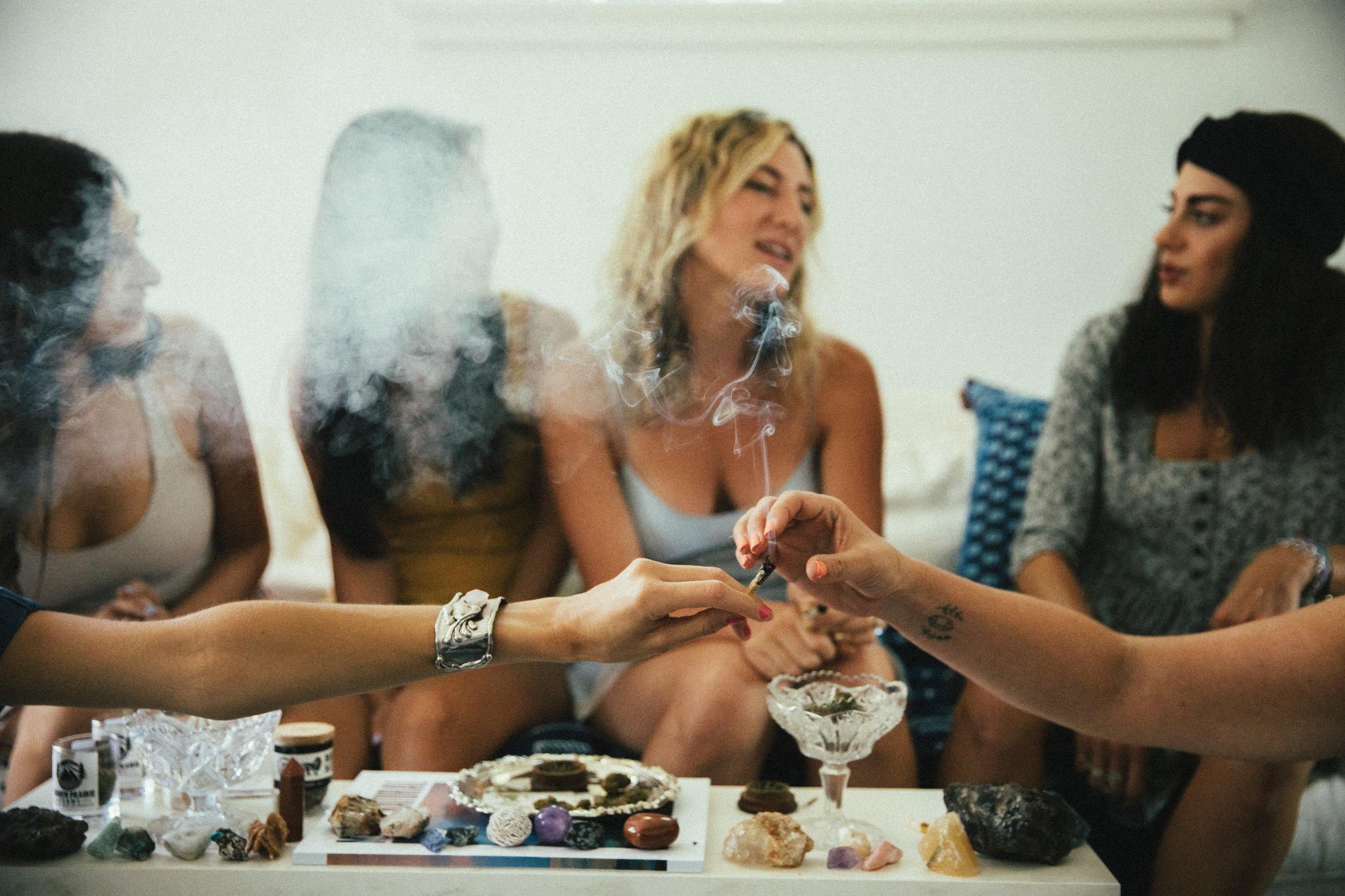 The future of cannabisis female. -