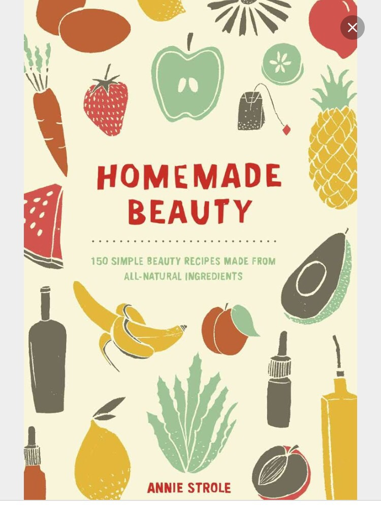 Homemade Beauty book