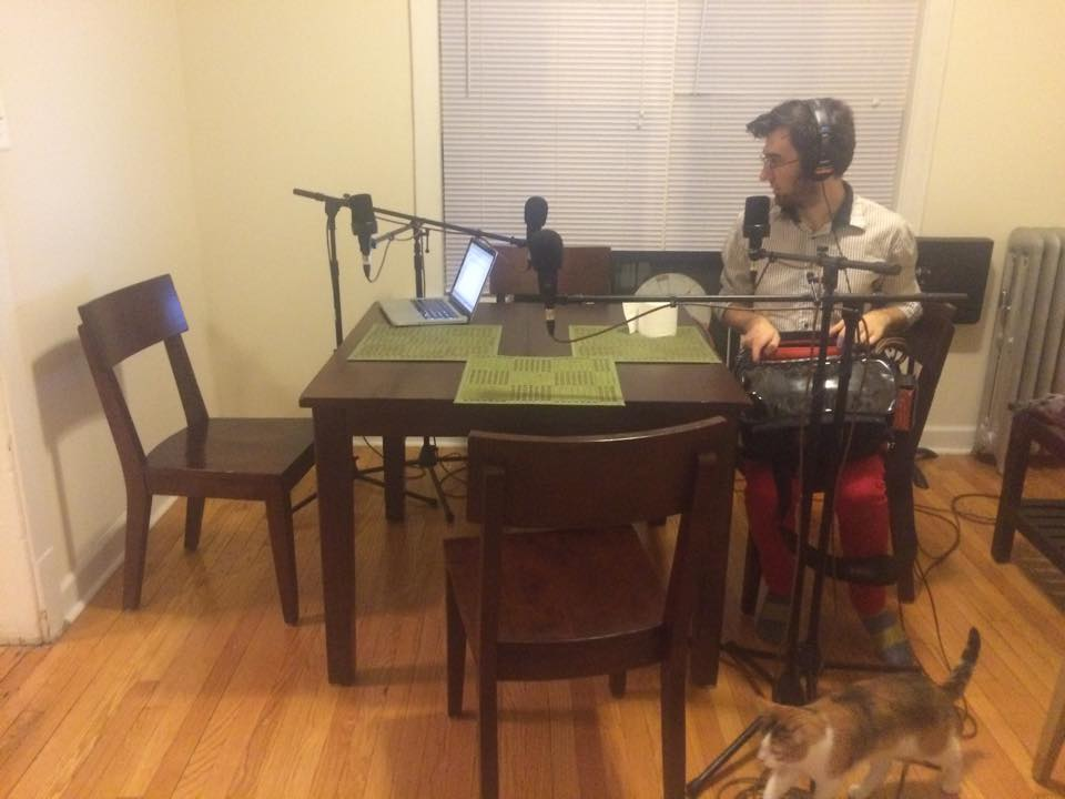 ARTIST'S HUDDLE PODCAST // AN APARTMENT IN EDGEWATER