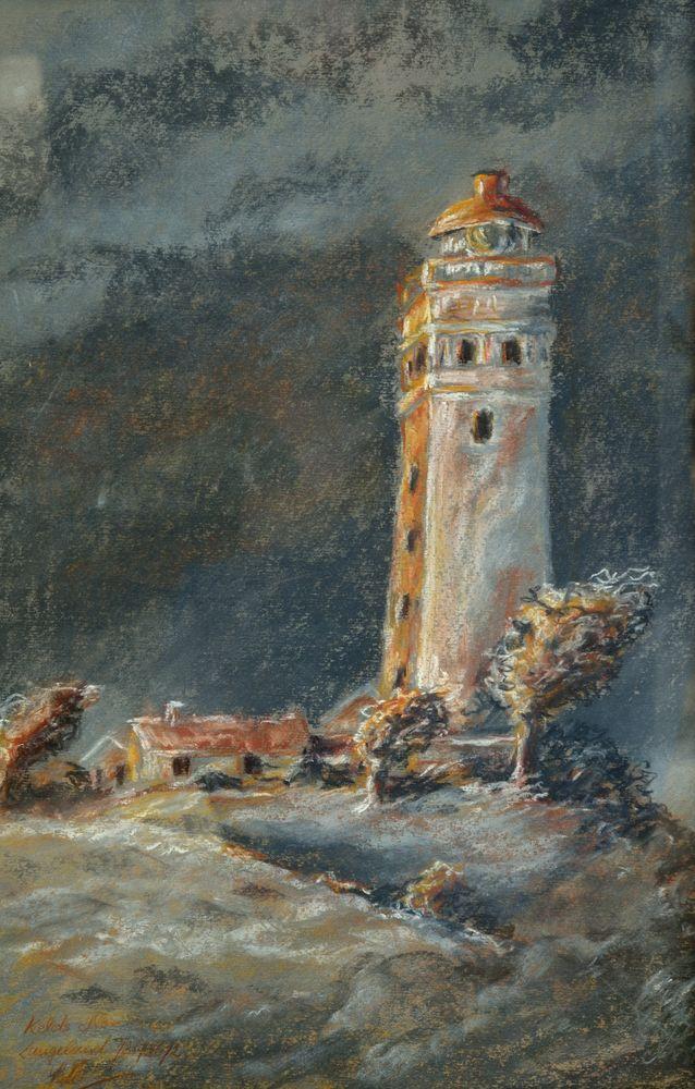 Leuchtturm von Langeland DK