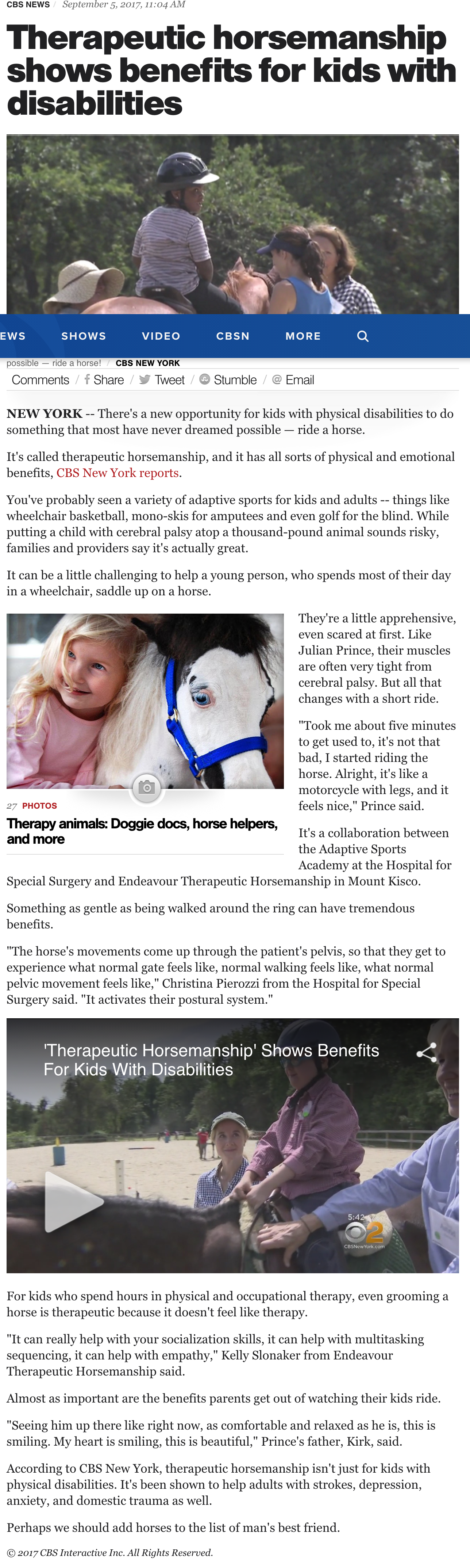 Therapeutic horsemanship shows benefits for kids with disabilities - CBS News.png